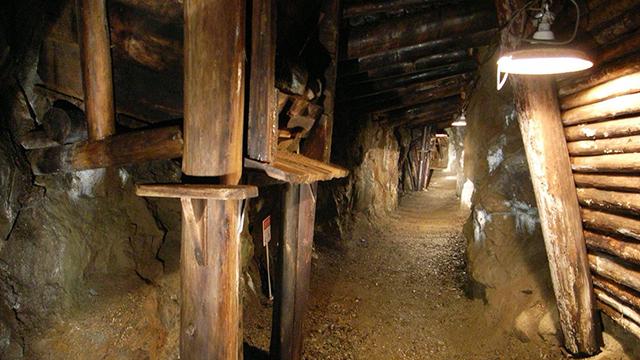 明延鉱山 探検坑道